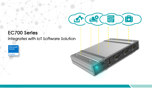 DFI EC700 Series System Integrates with IoT Software Solutions