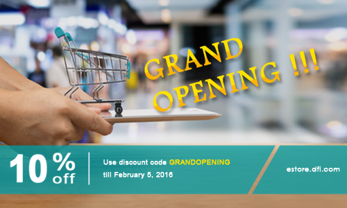 Grand Opening of DFI eStore