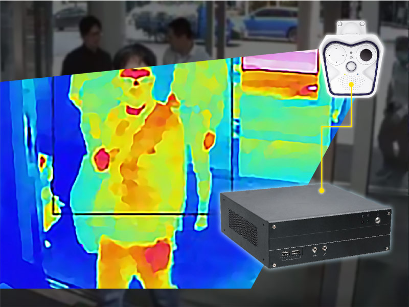 Smart Thermal Imaging and Entrance Control