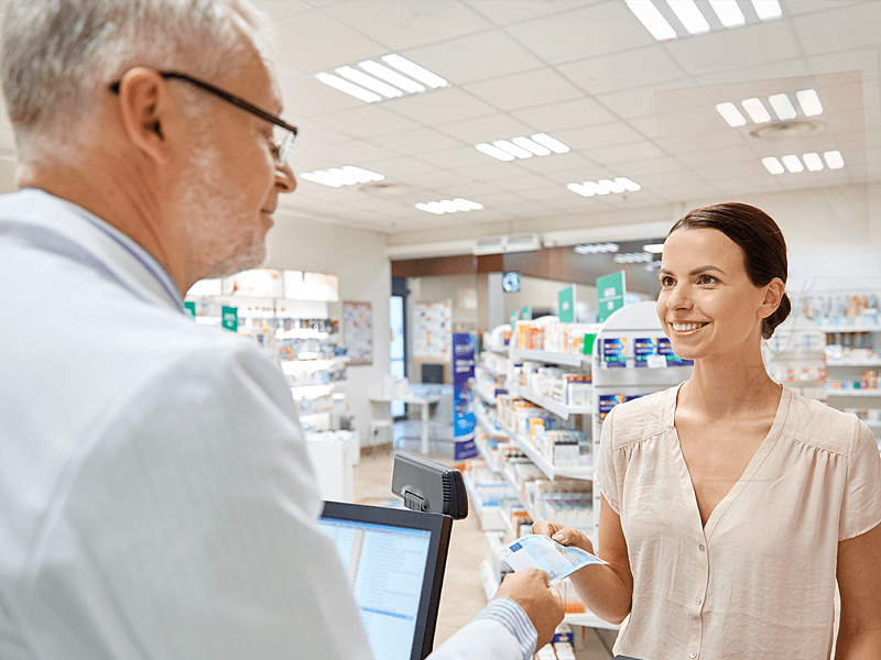 Applied DFI's Embedded Board  for High-end Pharmacy POS Solution